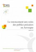506_Rapport_Non_recours_soins_Auvergne_page_couverture